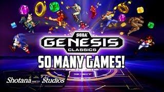 Every Game in Sega Genesis Classics! | Gameplay and Mini Reviews | Shotana Studios