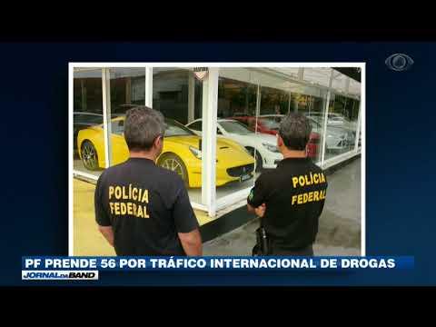 PF Prende 56 Por Tráfico Internacional De Drogas