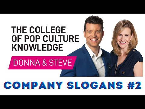 Company slogans 2 - College of Pop Culture Knowledge