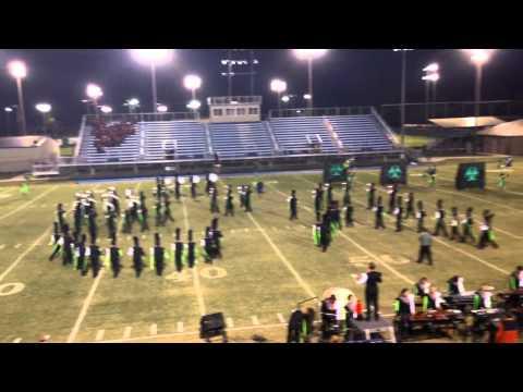Tahlequah High School Orange Express finals performance @ 2013 Pryor Band Day