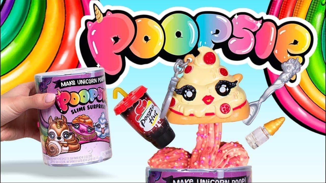 poopsie slime surprise crée une crotte de licorne avec 10 surprises magiques