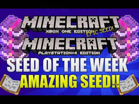 Minecraft XB1 & PS4 -  AMAZING SEED! ABOVE GROUND SPAWNERS, TEMPLES ENCHANTED BOOKS & MORE! [SEED]