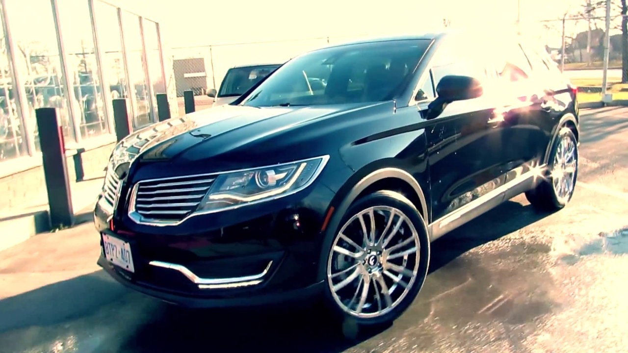 HILLYARD RIM LIONS 2016 LINCOLN MKX WITH 22 INCH CUSTOM FORGIATO CHROME RIMS - YouTube