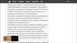 Javier Duarte pacto con la iglesia para aprobar su reforma anti aborto