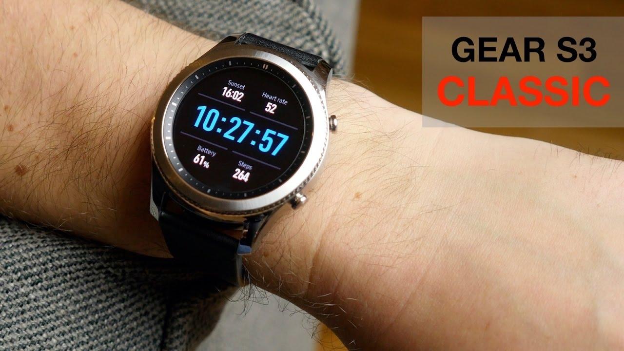 6d6e9035f239 Gear S3 Classic review  Android Wear