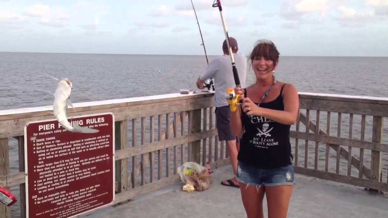 Catching A Ton Of Fish On Fort Myers Beach Pier