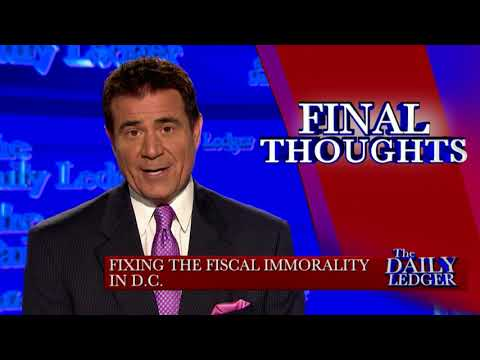 Fiscal Immorality in Washington, D C