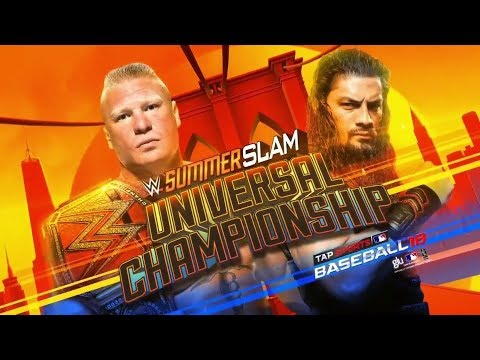 WWE SummerSlam 2018 Official and Full...