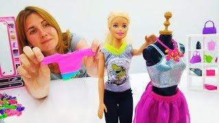 Что надеть на вечеринку? Новые наряды Барби. Игры одевалки для девочек