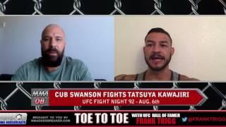 UFC Fight Night 92's Cub Swanson: 'I've got to take away Kawajiri's tools'