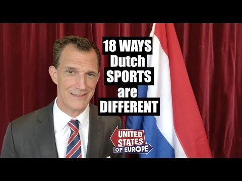 18 Ways Dutch Sports Are Different   United States of Europe