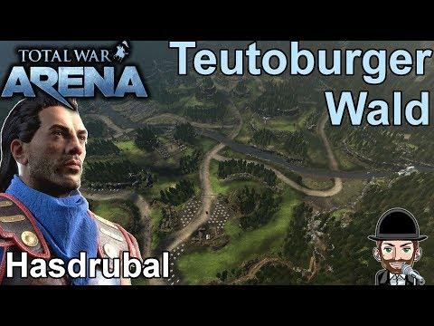 Total War Arena | Community Replay | Hasdrubal im Teutoburger Wald