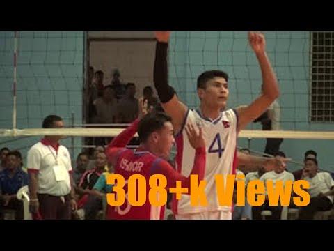 Nepal vs Bangaladesh friendly volleyball match 2nd day