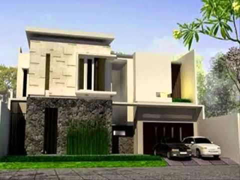 desain rumah minimalis 2 lantai pojok yg sedang trend saat ini