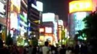 東京の夜を越える (Crossing the Tokyo night)
