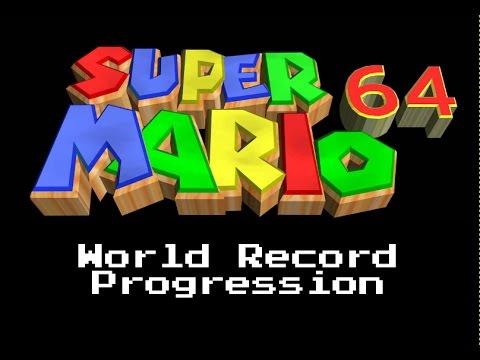 World Record Progression: Super Mario 64 - 120 star