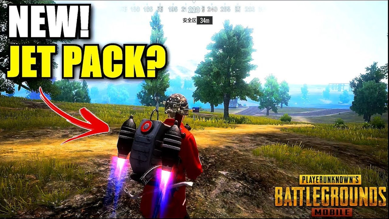 "Pubg Mobile Hd Yapma: NEW! ""JETPACK"" In PUBG Mobile (Timi Studio) Gameplay Ultra"