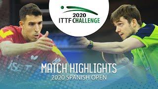 Кирилл Герасименко vs Alvaro Robles | Spanish Open 2020 (1/4)