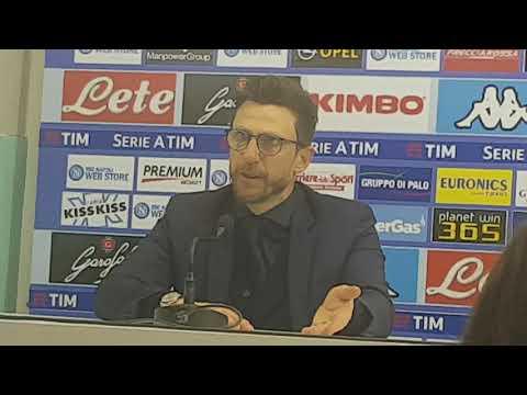 """Conferenza Di Francesco post Napoli: """"Non ci dobbiamo accontentare, l'abbiamo fatto troppe volte"""""""