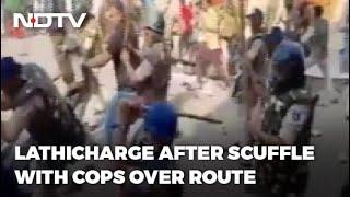 Police 'Lathi' Charge At Eid Milad-un-Nabi Procession In Madhya Pradesh