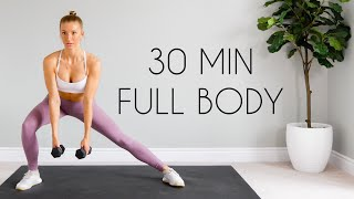 30 min Full Body FAT BURN HIIT At Home (Warm up & Cool Down Included)