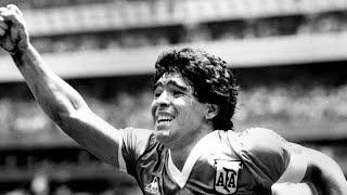 Homenaje a Maradona de Manolo Lama, Maldini, Paco González, Juanma Castaño, Minguella... en COPE