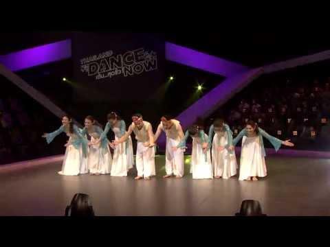 ระบำพื้นบ้านแบบร่าเริงสุดๆ - ลิเกฮูลู audition - Thailand Dance Now 2013