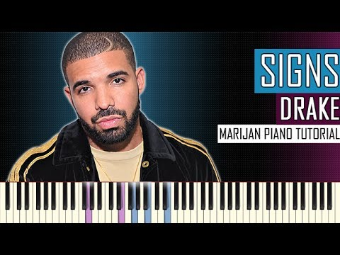 How To Play: Drake - Signs | Piano Tutorial
