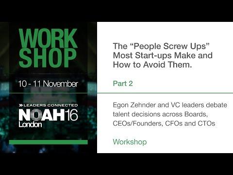 Workshop - Egon Zehnder - Part2 - NOAH16 London