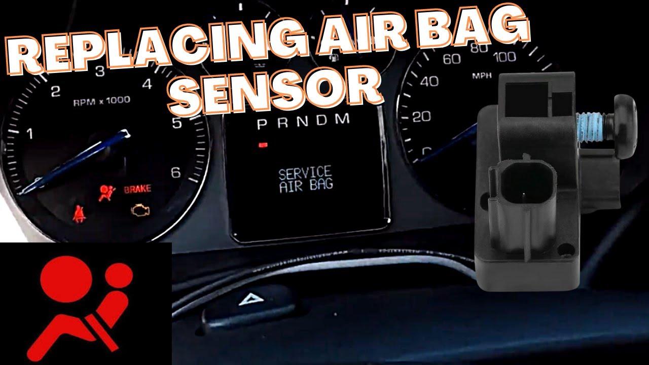 Escalade Front Impact Sensor Replacement B0083 B0084 Service Air Bag
