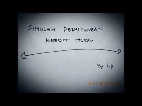 Cara Mudah Menghitung Kredit Mobil