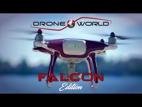Phantom 4 Falcon Edition Kit by Drone World