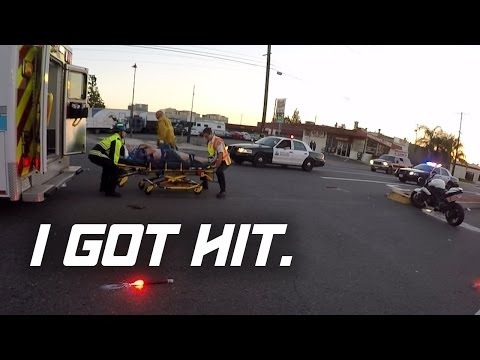 I GOT HIT (MOTORCYCLE CRASH) (FULL VIDEO)