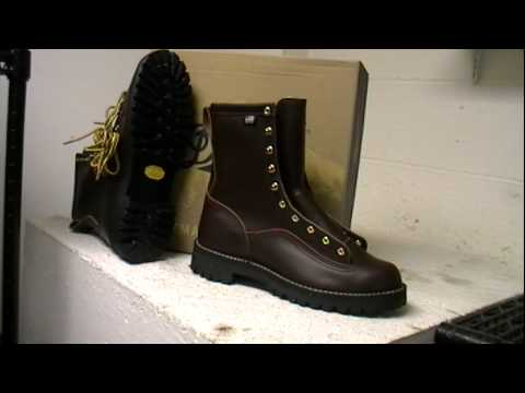 Danner Rainforest work boot 10600 - YouTube