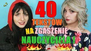 40 TEKSTÓW NA ZGASZENIE NAUCZYCIELA + KONKURS!