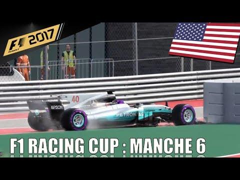 Championnat F1 Racing Cup : Manche 5 :  Grand Prix des Etats Unis