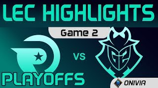 OG vs G2 Highlights Game 2 Round3 LEC Spring 2020 Origen vs G2 Esports LEC Highlights by Onivia