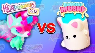 Hairdorables Pets vs Smooshy Mushy Minis - Who's Cuter NOW?!