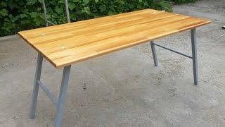 Складной столик для пикника(самодельный складной столик для пикника Простой и честный возврат 7% после покупки на Алиэкспресс и други..., 2015-07-12T19:13:05.000Z)