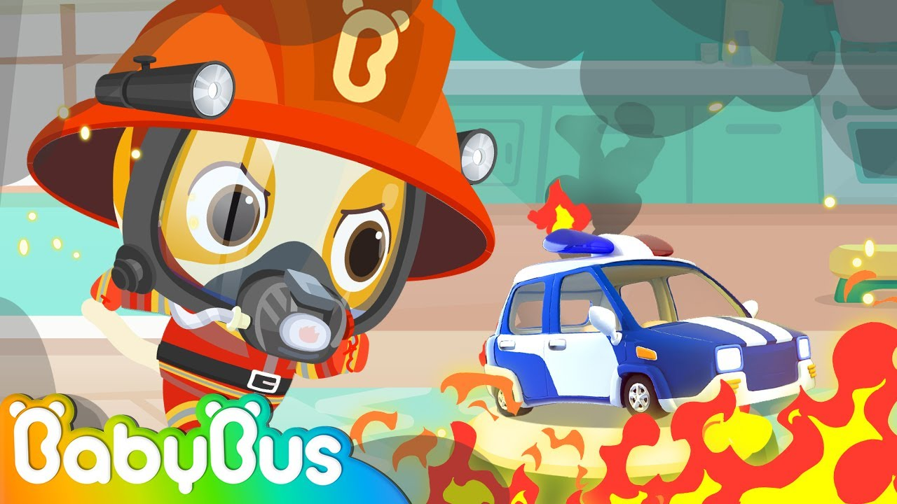 Fireman Timi At The Fire Station | Learn about Firefighters for Kids | Nursery Rhymes | BabyBus
