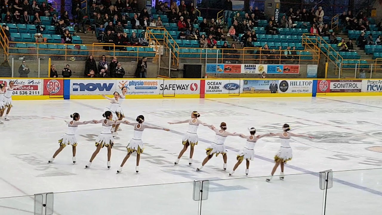 Synchro skating - Angelica and her group at Christmas Gala - 2 Dec ...