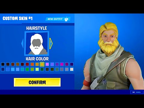 Introducing Character Creator! (Fortnite Custom Skins)