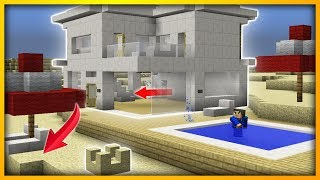 Minecraft - How To build a commandblock BEACH HOUSE