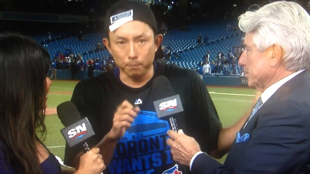 munenori kawasaki alds 2015 post game interview toronto blue jays