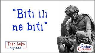 Verb to be, singular (Tako Lako Beginner Serbian Course)