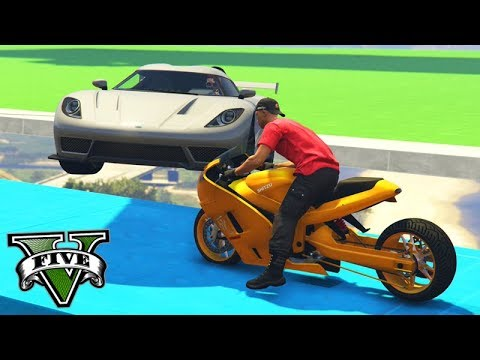 GTA V Online: MOTO HAKUCHOU vs SUPER CARROS - MITEI MUITO!!!