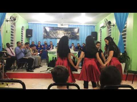 Coreografia Renovo - Catarina Santos // Assembléia de Deus de Canudos NH