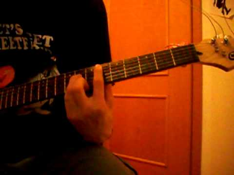 Choking Victim - In hell (Guitar cover) mp3