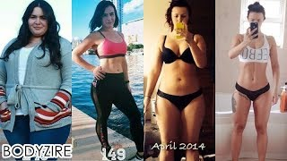Amazing Women Weight Loss Transformation Female Fat To Fit Motivation Before And After