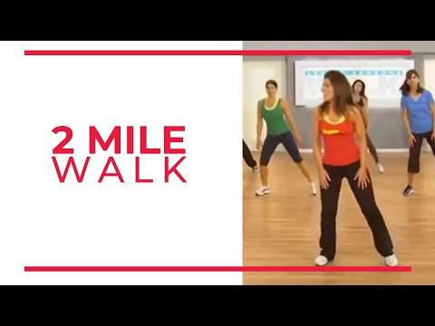 4 Mile Power Walk - 1st 2 Miles (Walk at Home Fitness Videos